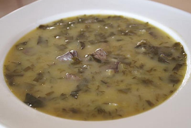 Σούπα κεφαλάκι αρνί