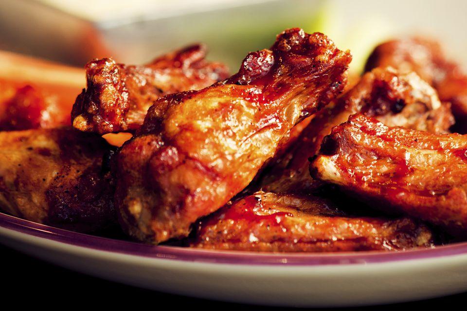 Πλατάρια κοτόπουλου κοκκινιστά